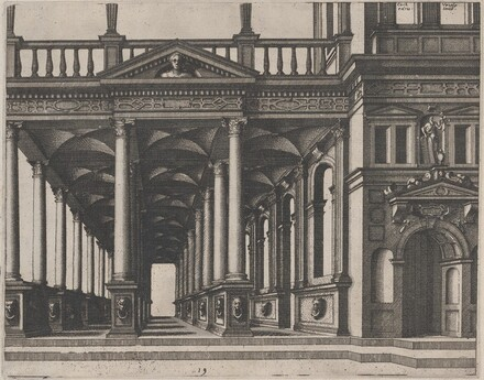 Open Hall Supported by Corinthian Columns