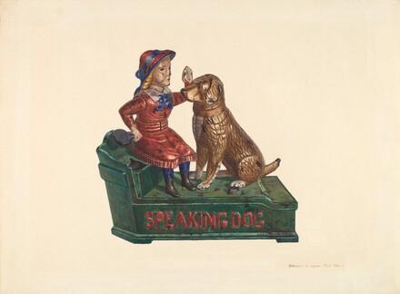 Toy Bank: Speaking Dog