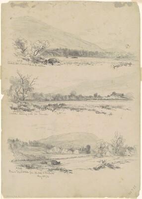 Three studies of the Catskills