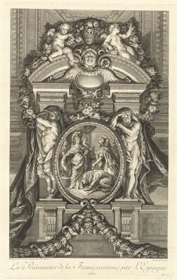 La Prééminence de la France reconnue par l'Espagne 1662 (The Preeminance of France Recognized by Spain 1662) [pl. 17]