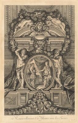 Renouvellement d'Alliance avec les Suisses 1663 (Renewal of Alliance with the Swiss 1663) [pl. 18]