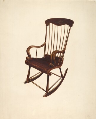 Rocking Chair: Bishop Hill