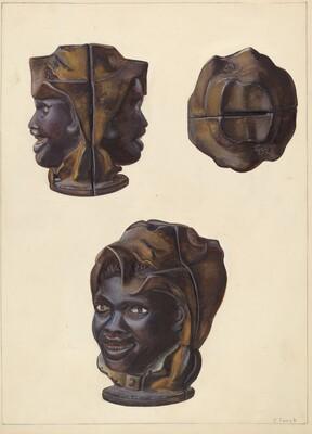 Double Faced Negro Head Bank