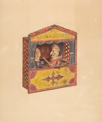 Punch and Judy Penny Bank