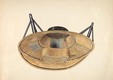 Circular Tin Bath Tub