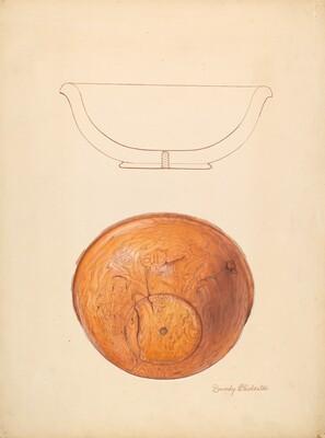 Walnut Burl Bowl