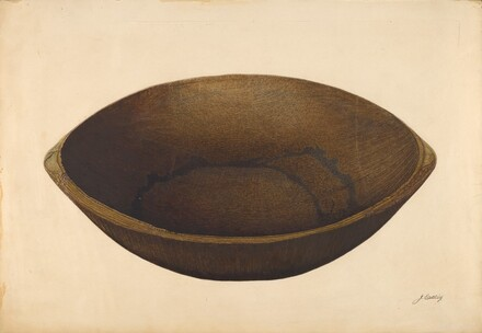 Maple Mixing Bowl