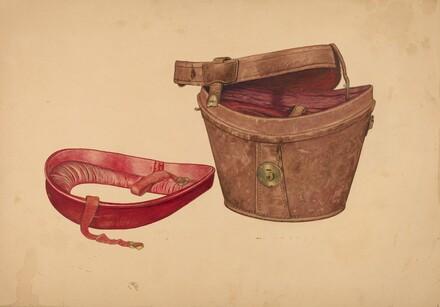 Man's Hat Box