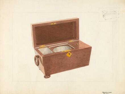 Sugar and Tea Box