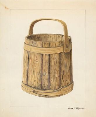 Wooden Sugar Bucket