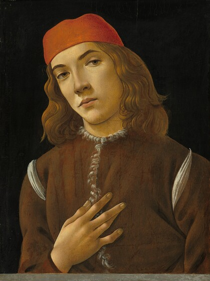 Portrait Painting in Florence in the Later 1400s Botticelli Paintings