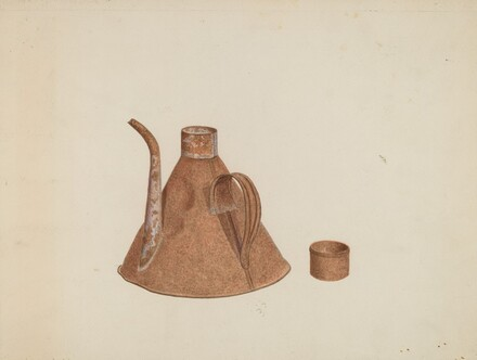 Oil Can with Spout
