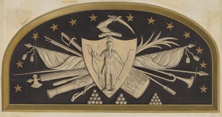 Lunette - Massachusetts State Seal