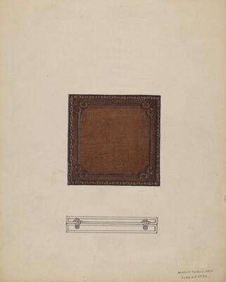 Leather Medal Case