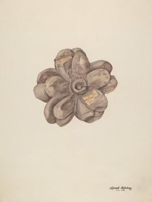 Wood Carving - Flower