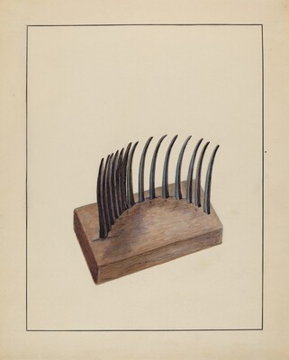 Comb (For Agricultural Use)