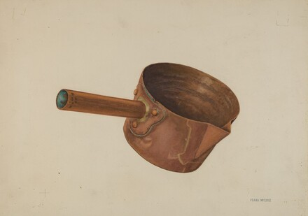 Copper Candy Ladle