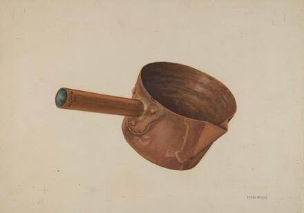 Copper Candy Ladle