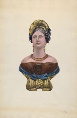 Figurehead for Ship Marcia Allen