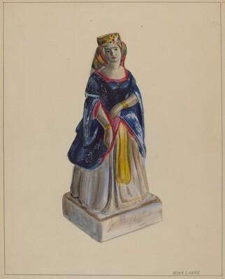 Statuette (Queen Victoria)