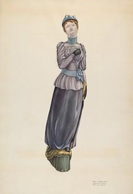 Victorian Lady Figurehead