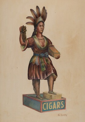 Cigar Store Indian