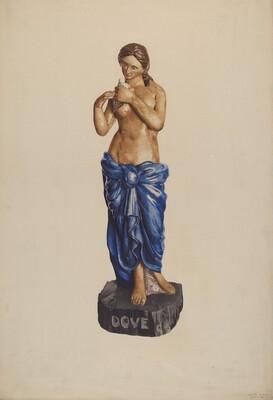 Garden or Circus Figure