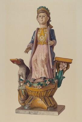 Seated Figure: Liberty