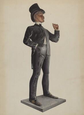 Tobacco Store - Male Figure