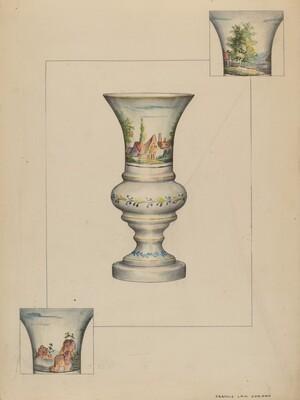 Fire Lighter Vase
