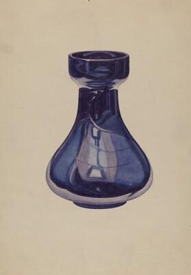 Cobalt Vase