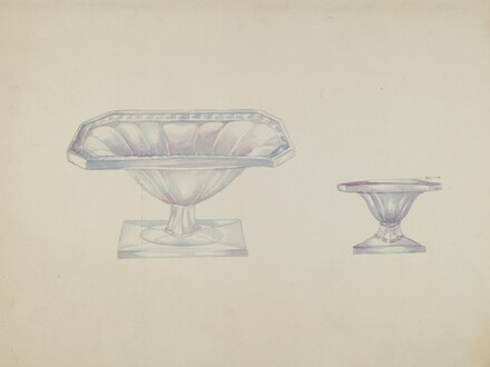 Glass Nut Dishes