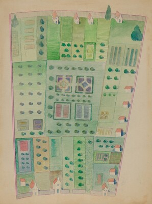 Dutch Garden Plan