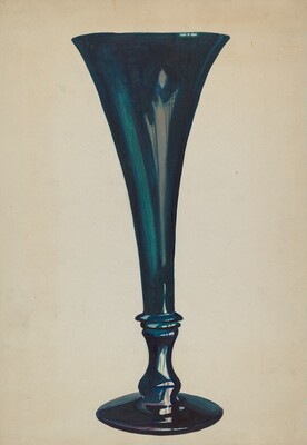 Trumpet Glass Vase