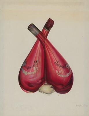Vinegar and Oil Bottle