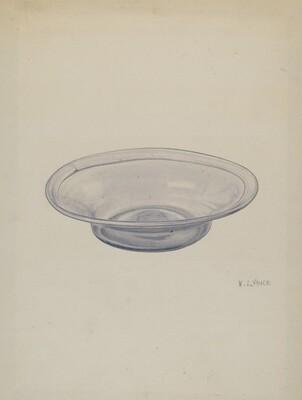 Glass Sauce Dish