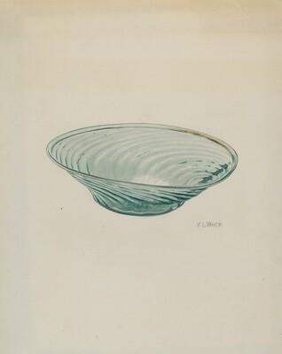 Flat Glass Bowl