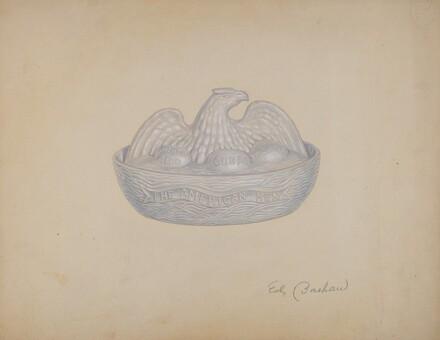 Butter Dish (Hen)