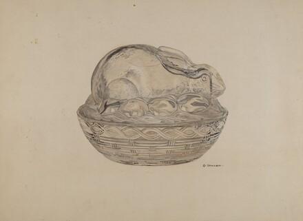 Covered Rabbit Dish