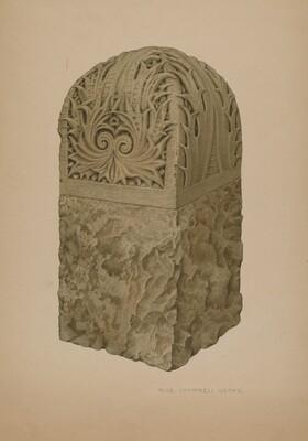 Stone Gate Post