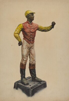 Jockey Hitching Post