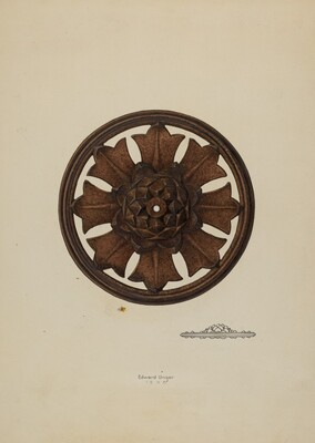 Perforated Rosette