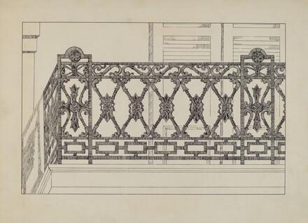 Cast Iron Balcony Railing