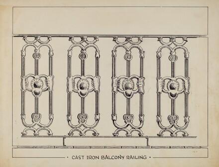 Cast Iron Window Balcony
