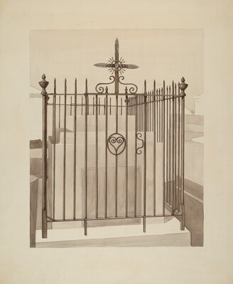 Iron Gate and Fence