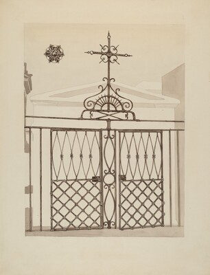 Cast and Wrought Iron Fence