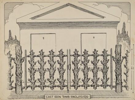 Iron Fence around Tomb