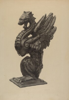 Newel Figure