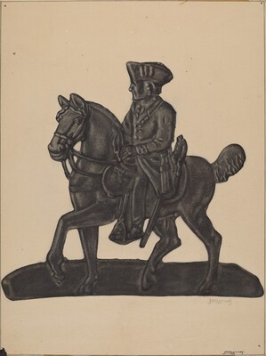 Iron Officer on Horse