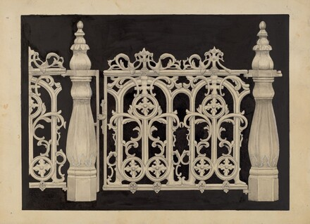 Iron Railing and Gate